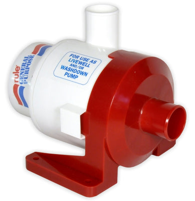 Rule 3800 General Purpose Pump 12 volt DC High flow, low head centrifugal pump - Rule 17A