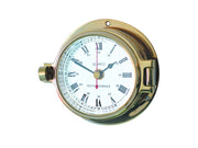 Channel Range Clock - Brass