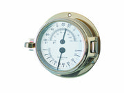 Channel Range Thermometer Hygrometer - Brass