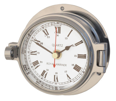 Channel Range Clock – Polished Chrome Colour