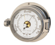 Channel Range Barometer - Polished Chrome Colour