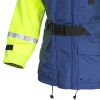 Fladen 2 Piece Flotation Suit in Blue - Jacket and Bib & Brace Trousers