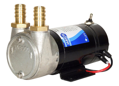 Self-priming diesel transfer pump Up to 35 litres/minute 24 volt d.c. - Jabsco 23870-1300