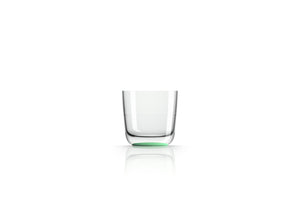 Non slip Tumbler, pale green (glow in the dark), designed by Marc Newson - Pack of 4