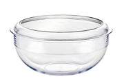 Large Salad bowl & lid in Clear Polycarbonate