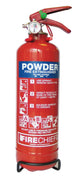 Firechief Fire Extinguisher 1kg 8A 55B C Dry Powder