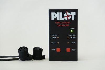 Pilot Dual Gas Alarm – two sensors - important and effective safety equipment