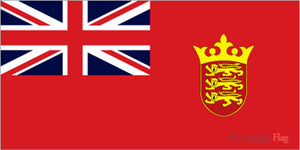 Jersey Red Ensign 30 x 45cm