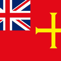 Guernsey Red Ensign 30 x 45cm