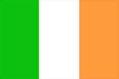 Ireland Courtesy Flag – 30 x 45cm