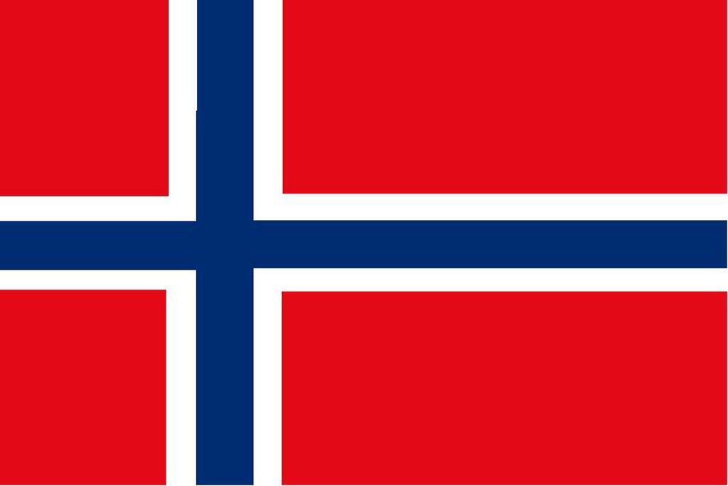 Norway Courtesy Flag – 30 x 45cm