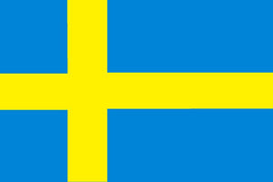 Sweden Courtesy Flag – 30 x 45cm