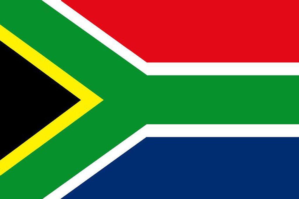 South Africa Courtesy Flag – 30 x 45cm
