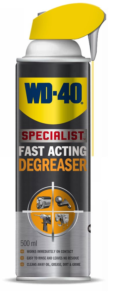 WD40 Fast Acting Degreaser - 500 ml – with Smart Straw