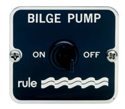 Rule 2-way Panel Switch. - Switch 12/24 volt DC. Rule - 49