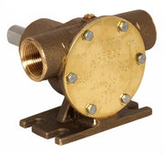 "¾"" bronze pump, 40-size, foot-mounted with BSP threaded ports  - Jabsco 52040-2001"