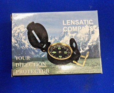 Compass for Boating, Orienteering, Camping, Hiking - for Aiming on Land or Water