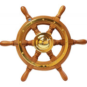 Stazo Type 01 Wooden Spoked Marine Steering Wheel (400mm)  610015