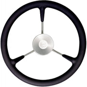 Vetus KS38Z Black Padded Marine Steering Wheel (380mm)  611230