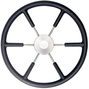 Vetus KS45Z Black Padded Marine Steering Wheel (450mm)  611240
