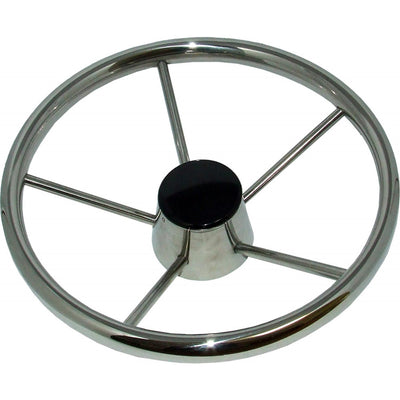 Drive Force Stainless Steel Steering Wheel (Dished / 320mm)  611721