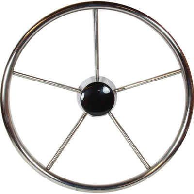 Drive Force Stainless Steel Steering Wheel (Dished / 380mm)  611724
