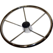 Drive Force Stainless Steel Steering Wheel (Dished / 420mm)  611727