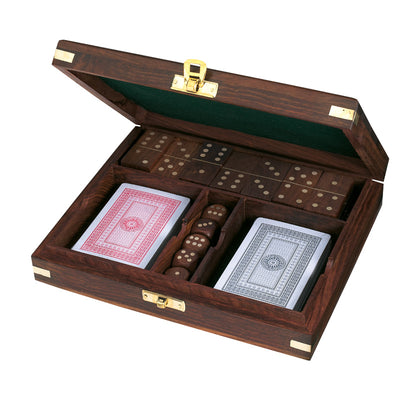 Captain's Cabin Boxed Game Set