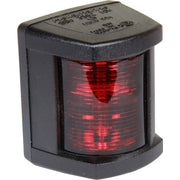 Hella 3562 Port Red Navigation Light (Black Case / 12V / 10W)  721002