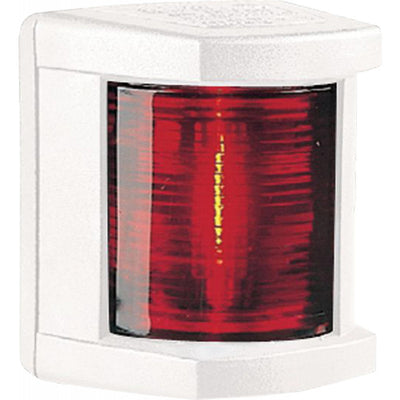 Hella 3562 Port Red Navigation Light (White Case / 12V / 10W)  721022