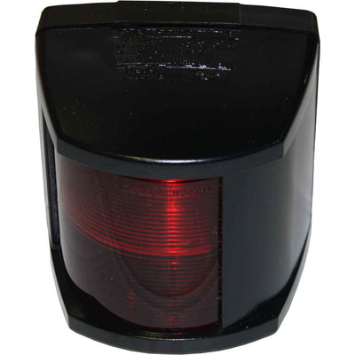 Hella 2984 Port Red Navigation Light (Black Case / 12V / 25W)  721102