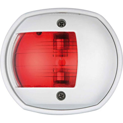 Compact Port Red Navigation Light (White Case / 12V / 10W)  721822