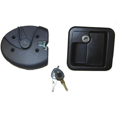 M1 Complete Lock Assembly Black Type 1 - 1090KIT51N