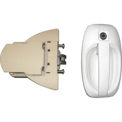 FAP Pro Tek Lock White (Right Hand) - 1122KIT0828N