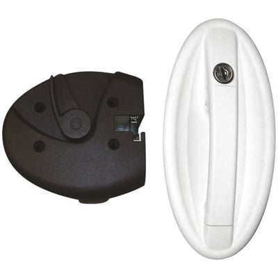 Oval Lock White - 1098KIT0128N