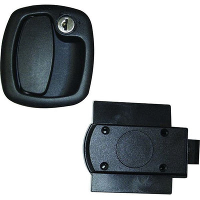 Locker / Garage Lock Black - 1200KIT51N