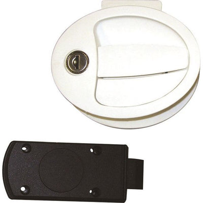 Oval Locker Door Lock - 1096KIT28N