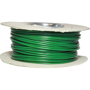 ASAP Electrical 1 Core 2mm² Green Thin Wall Cable (50m)  734135-D