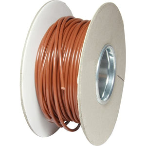 ASAP Electrical 1 Core 3mm² Brown Thin Wall Cable (30m)  734143-C