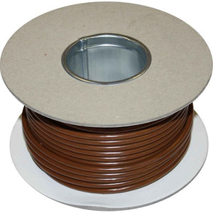 ASAP Electrical 1 Core 6mm² Brown Thin Wall Cable (100m)  734179-C