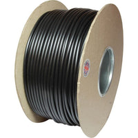 ASAP Electrical Round 2 Core 1mm² Black Thin Wall Cable (100m)  734249-A