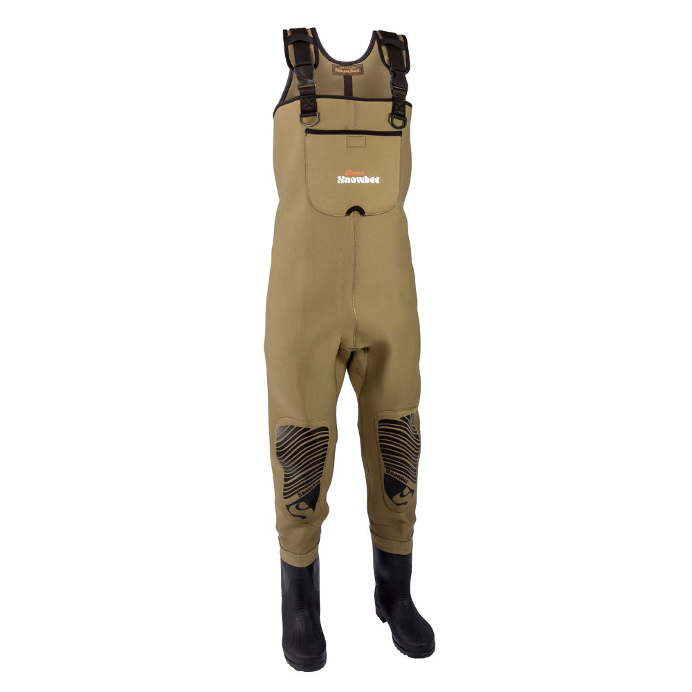 Snowbee Classic Neoprene Chest Wader with Cleated Sole
