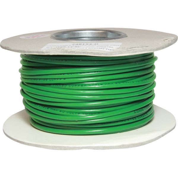 Oceanflex 1 Core 4mm² Tinned Green Thin Wall Cable (30m)  748153-D