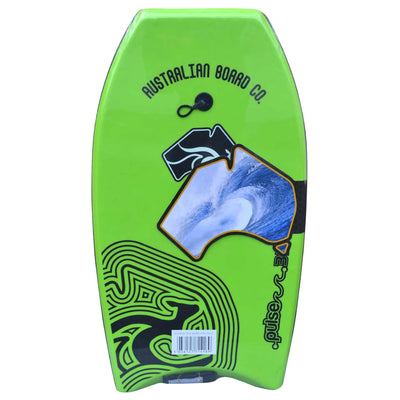 33inch Kids Pulse Series EPS Bodyboard by Australian Board Company  green