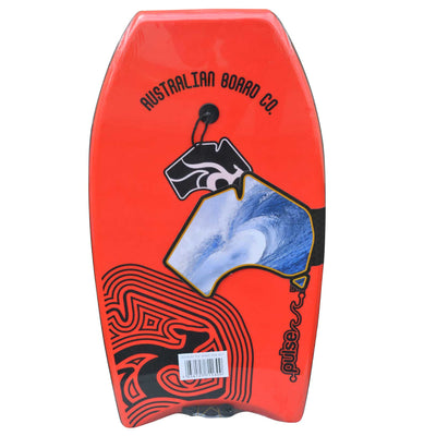 33inch Kids Pulse Series EPS Bodyboard by Australian Board Company  red