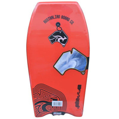 42inch Adults Pulse Series EPS Bodyboard by Australian Board Company  red