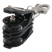 Allen 40mm Back to Back Snatch Block with Swivel