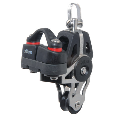 Allen 40mm Swivel Fiddle Block with Cleat 2-6mm