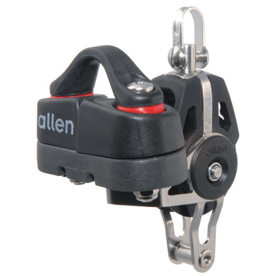 Allen 40mm Swivel Block with Becket & Cleat 2-6mm