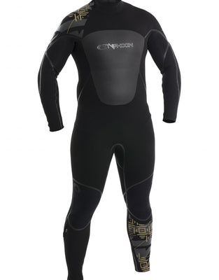 Men's Kona Back Entry 5mm Suit